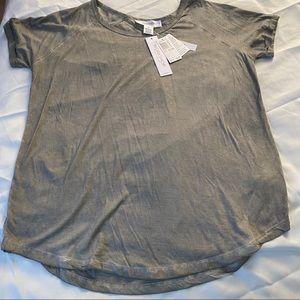 Workshop Brand Short Sleeve Tunic 0X NWT $48